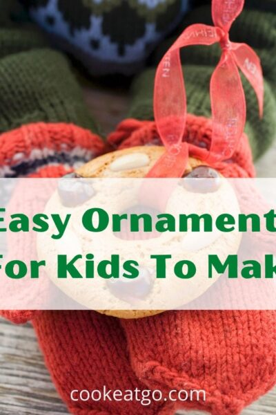 These Easy Ornaments For Kids To Make are perfect to create with your kids for this Christmas season. Plus they can make great gifts for extended family too!