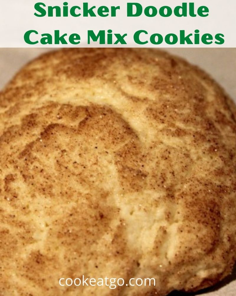 Snickerdoodle Cake Mix Cookies Recipe makes for an easy dessert! With just pantry ingredients this classic is easy to make to enjoy!