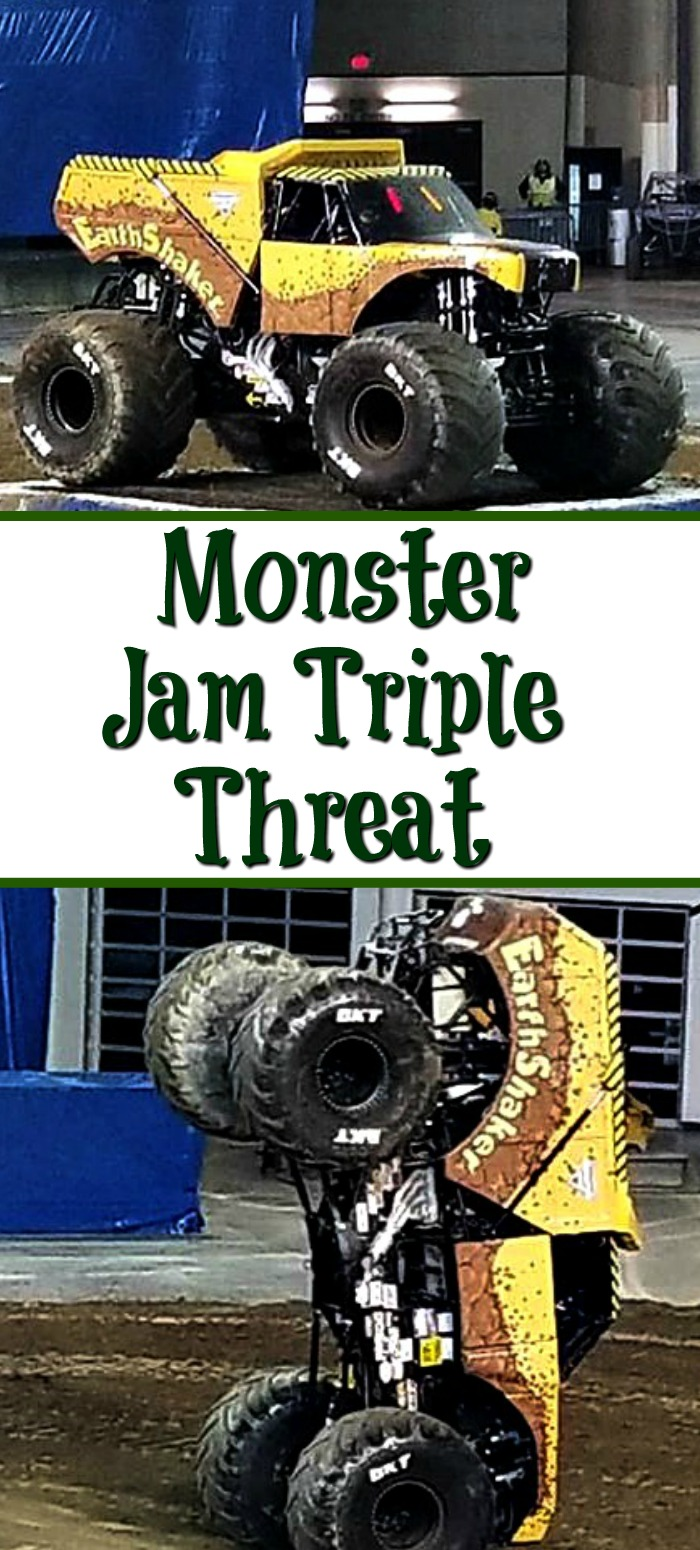 What To Expect At Monster Jam Triple Threat Series is the perfect family show to attend! Shows all over the United States watch the trucks compete for points!