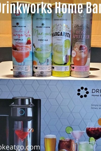 MSG 21+ Learning To Embrace The Little Things In Life With Drinkworks® Home Bar by Keurig®!! Drinkworks machine makes it so easy to make chilled cocktails at home on a budget! Please Enjoy Responsibly.