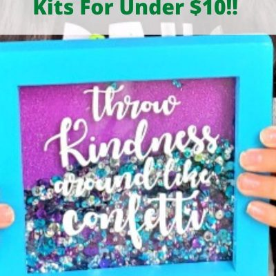 Grab 2 Annie's Creative Girls Kits For Under $10! These are great for kids staying at home and they craft kit is a great gift to send to family and friends!