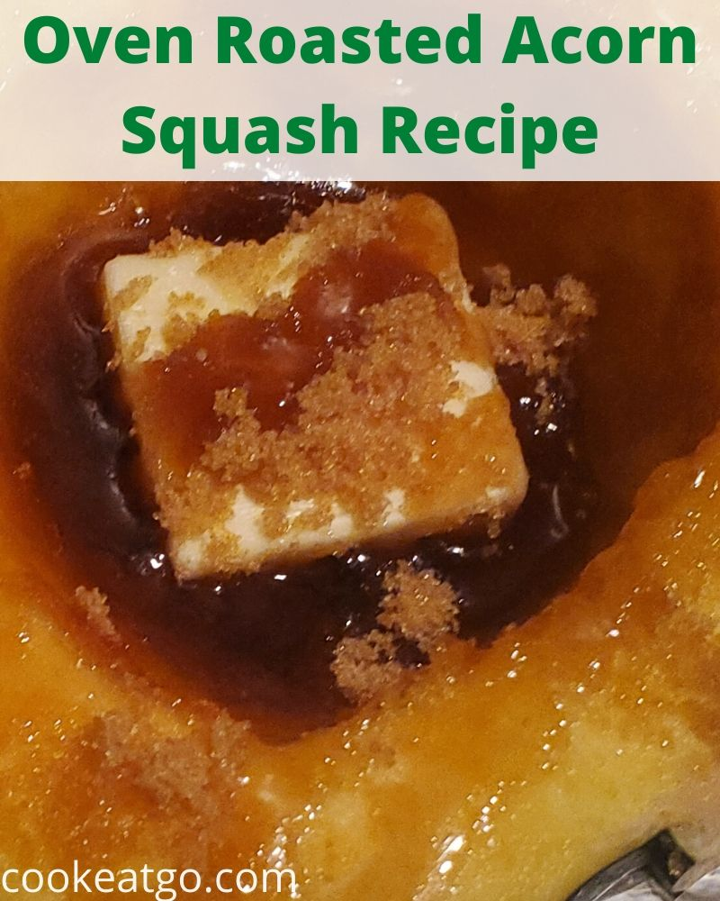 This Oven Roasted Acorn Squash Recipe is the perfect fall comfort vegetable food. Use maple syrup and brown sugar to make acorn squash into fall comfort food!