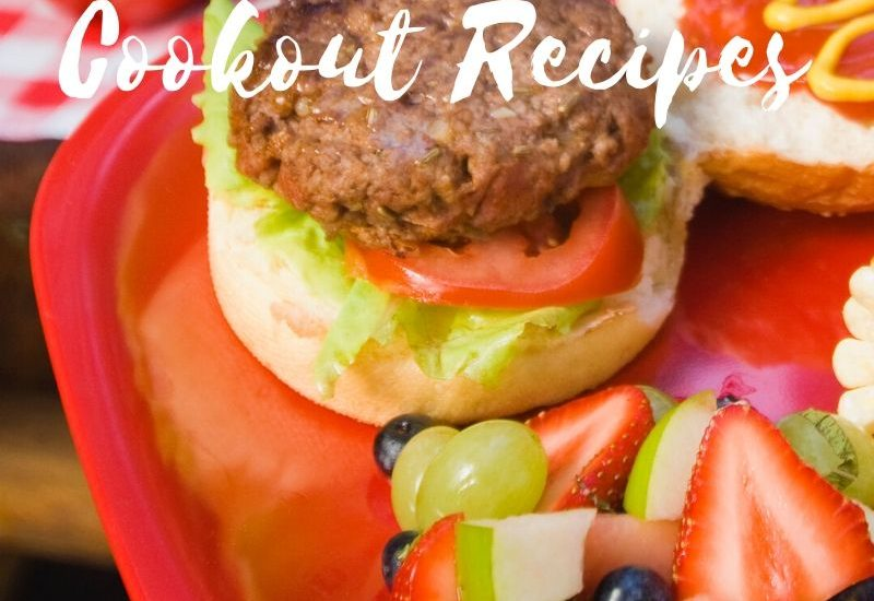 These cookout recipes are perfect for any back yard get together or summer cookout! Making food on the grill is the perfect way to spend time together.