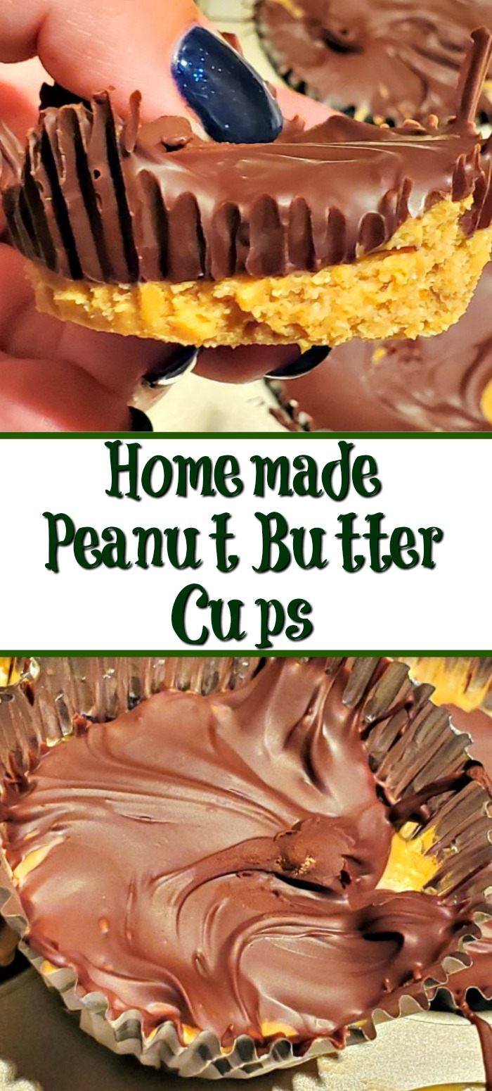Homemade Peanut Butter Cups is a huge hit in our house!! These are going to be great in the summer as no oven is needed and its amazing served cold!!