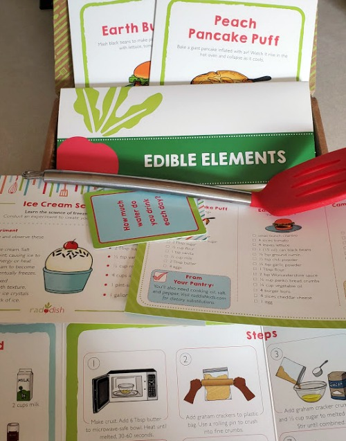 Raddish Cooking Club is the perfect way to Help Grow A Love Of Cooking! The subscription boxes make it easy to help kids be more comfortable in the kitchen.