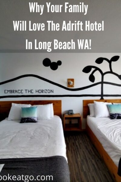 Your Family Will Love The Adrift Hotel in Long Beach WA! Right on the beach, close to town, bikes to ride, pool, and sauna perfect staycation!