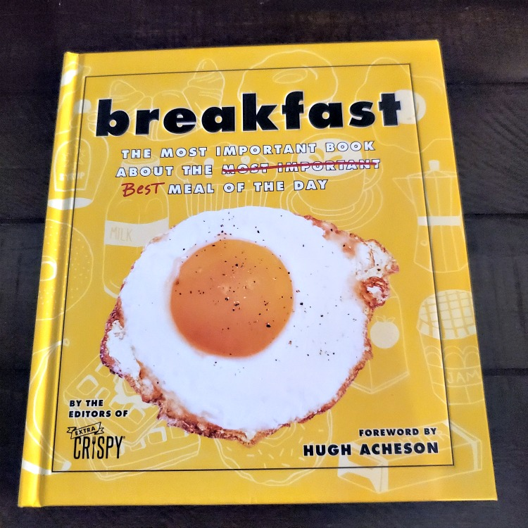 Breakfast: The Most Important Book About the Best Meal of the Day!! This makes a great gift for newly weds and for college bound kids as well!
