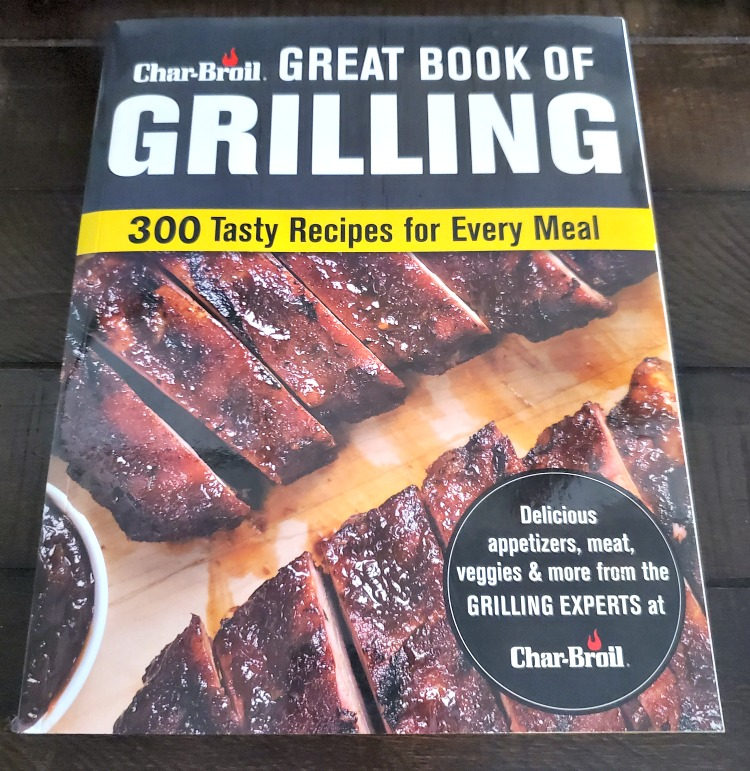 Char-Broil Great Book of Grilling: 300 Tasty Recipes for Every Meal is perfect to give to any BBQ master! These recipes are great for the beginner or expert level!