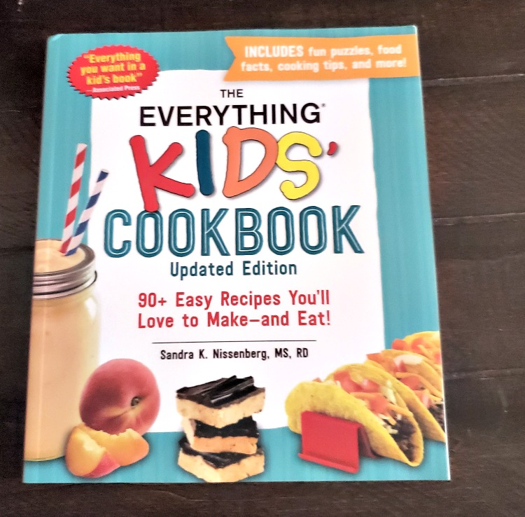 The Everything Kids Cookbook is perfect to give for a holidays or birthdays! Start the love of cooking early!