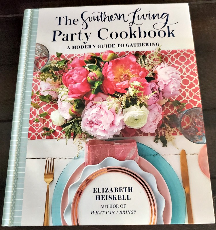 The Southern Living Party Cookbook is the perfect gift to give to anyone who loves to host parties and get together! Making fancy food at home doesn't have to be hard!!