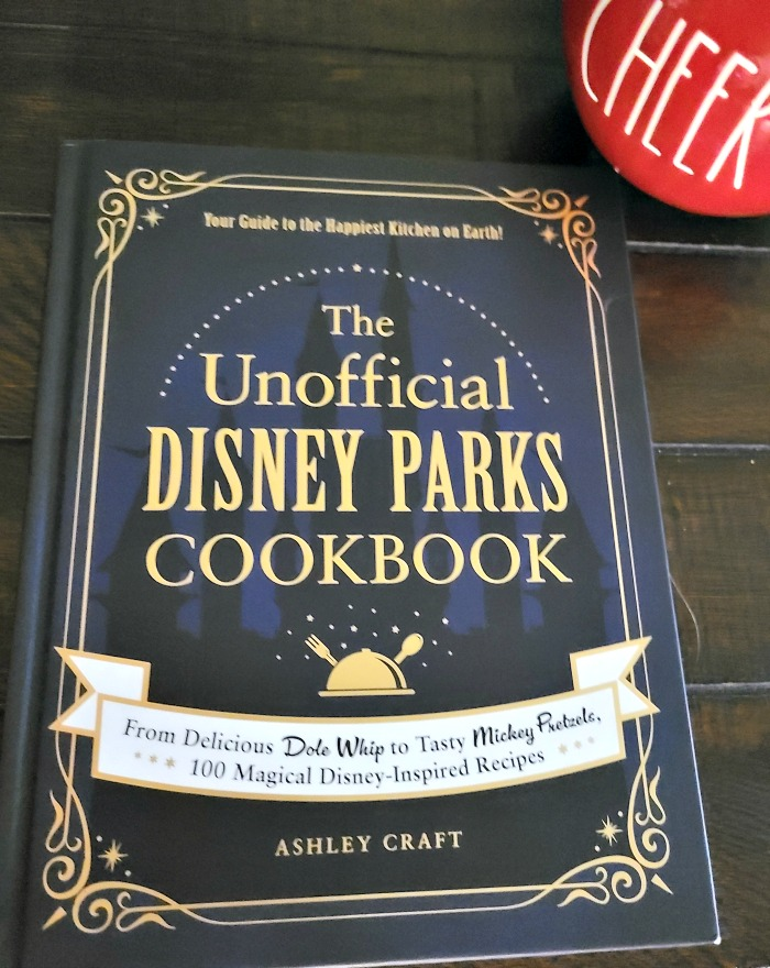 The Unofficial Disney Parks Cookbook: From Delicious Dole Whip to Tasty Mickey Pretzels, 100 Magical Disney-Inspired Recipes!!  Now if you have any Disney lovers in your family this makes a great gift.  With travel being so limited it is a great way to make your park favorites at home!!
