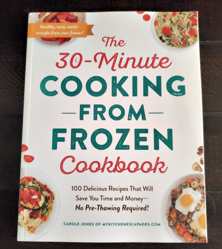 The 30 Minute Cooking From Frozen Cook Book is the perfect gift for any working or sports parent! Dinner time can be crazy so having recipes that can be cooked frozen can save dinner time!