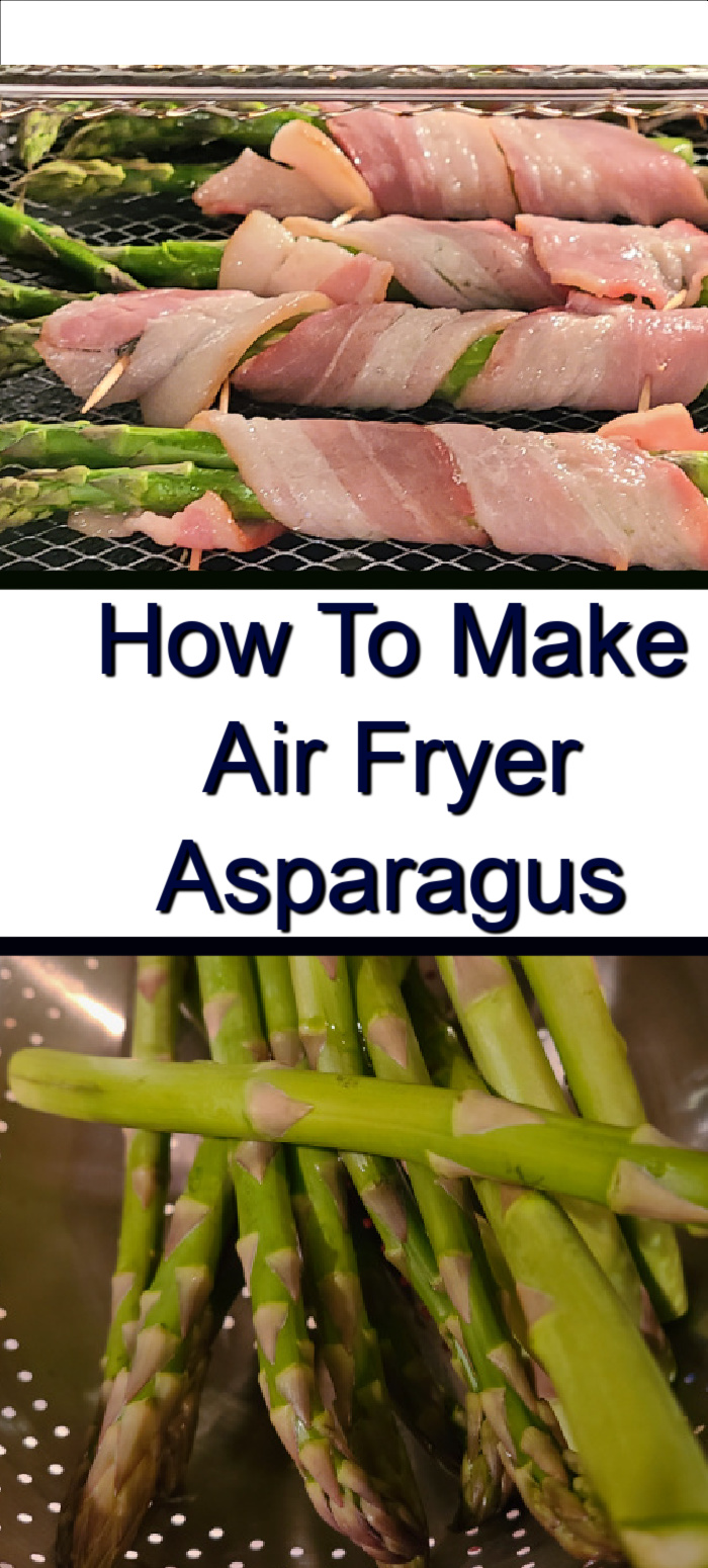 How To Make Air Fryer Asparagus! Asparagus is a zero-point vegetable on the My WW plans and is so fast easy to make in the air fryer as a side dish. You can make this with spray butter, bacon, or olive oil! Use different seasonings to change up the flavor or add cheese for a tasty side dish.