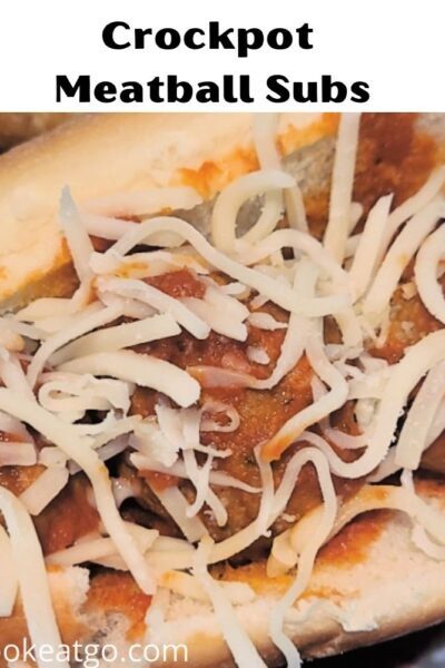 These Crockpot Meatball Subs are a great tailgating recipe! Easy to make and keep warm during the game! A guaranteed crowd pleaser! In addition to being perfect for tailgating, these are also easy to make for weeknight dinners!
